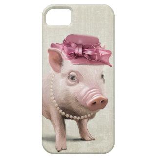 Senhorita Leitão Capa Para iPhone 5