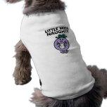 Senhorita pequena Impertinente Clássico 2 Camisas Para Cães