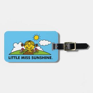 Senhorita pequena Luz do sol | de volta à natureza Etiqueta De Bagagem