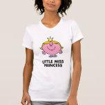 Senhorita pequena princesa Clássico T-shirts