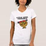 Senhorita pequena Problema Clássico 1 T-shirt