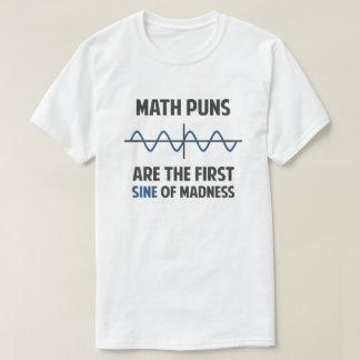 Seno das chalaças da matemática primeiro da camiseta