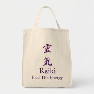 Sensação de Reiki a energia Bolsa Tote
