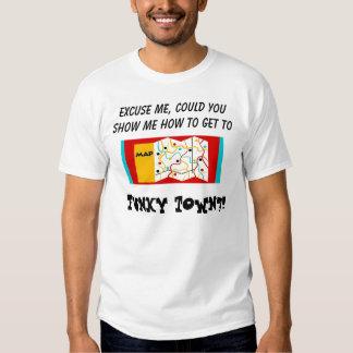 Sentidos à cidade Funky Camiseta