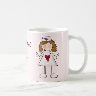 Sentimento melhor? Agradeça a uma enfermeira Caneca