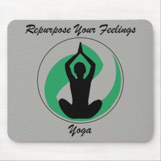 Sentimentos de Mousepad da ioga