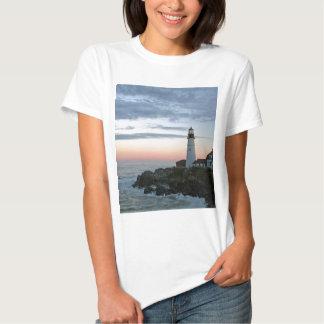 Sentinal no por do sol camiseta