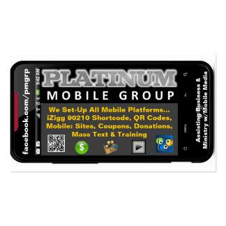 Sepulturas Card1 do PMG Cartão De Visita