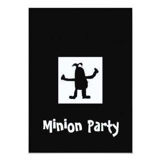 Sequaz no convite de festas da noite