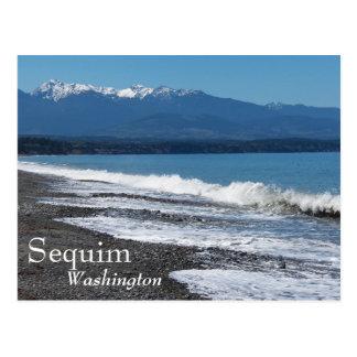 Sequim, foto do viagem de Washington Cartão Postal