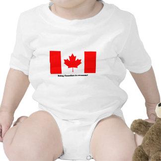 Ser canadense é impressionante! macacãozinhos para bebê