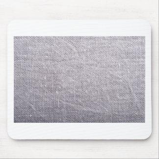 Serapilheira cinzenta do fundo do tecido mousepad