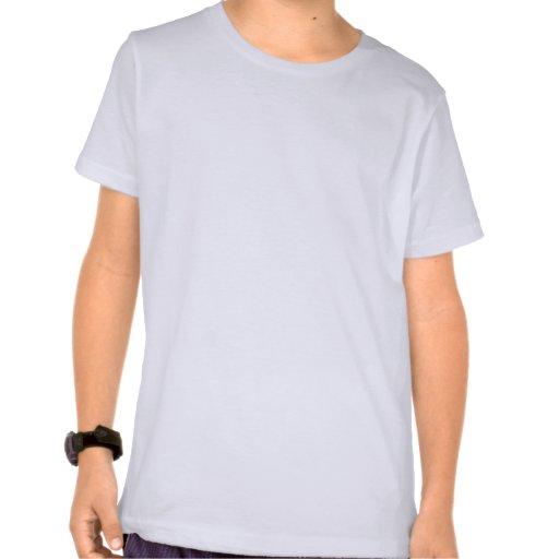 Sereia asiática camisetas