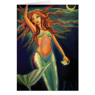 Sereia Atlantean - cartão