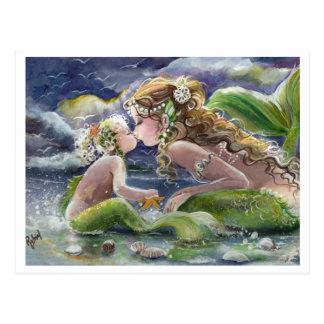 Sereia de Kissy & cartão da criança