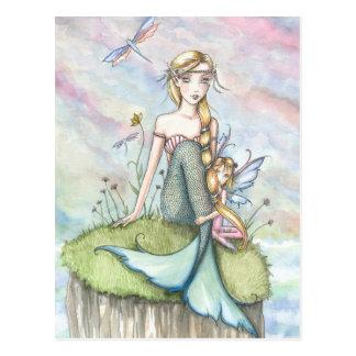 Sereia do blefe e cartão mágicos da fada
