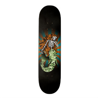 Sereia esqueletal shape de skate 19,7cm