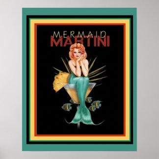 Sereia Martini 16 x poster 20