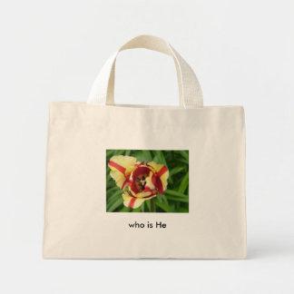 Serena, tira amarela da tulipa w/red…   quem é ele sacola tote mini
