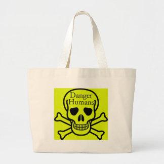 Seres humanos do perigo bolsas