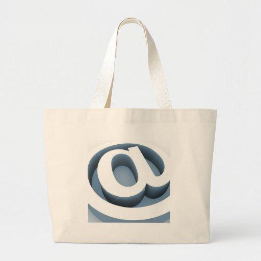 Serie @ bolsa para compras