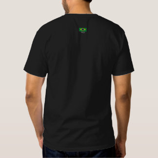 Série da bandeira de Brasil Camiseta