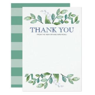 Série das hortaliças dos cartões de agradecimentos convite 8.89 x 12.7cm
