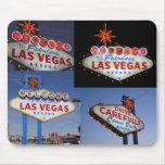Série de néon retro: Sinal de Lss Vegas Mouse Pad
