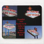 Série de néon retro: Sinal de Lss Vegas Mouse Pads