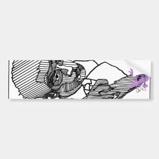 Série do artista do Pin-Acima do bandido da elite  Adesivo Para Carro