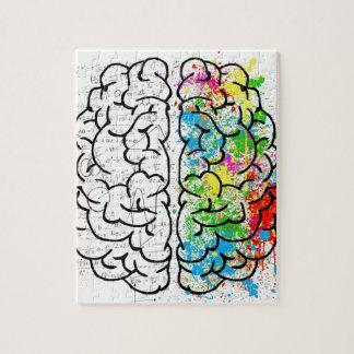 série do cérebro quebra-cabeça