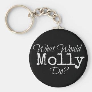 """Série ESCONDIDA - """"o que Molly faz?"""" chaveiro"""