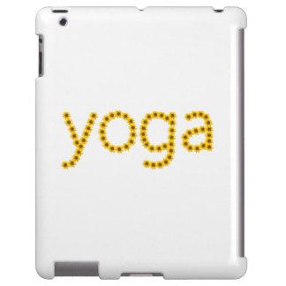 série floral da ioga do cobrir do ipad mal lá capa para iPad