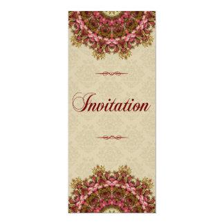 Série italiana do jardim do renascimento - convite 10.16 x 23.49cm