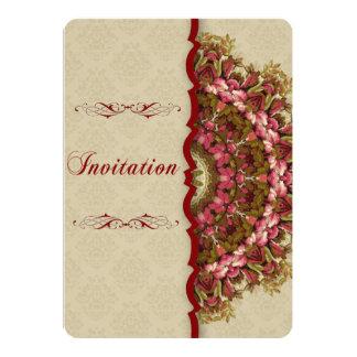 Série italiana do jardim do renascimento - convite 12.7 x 17.78cm