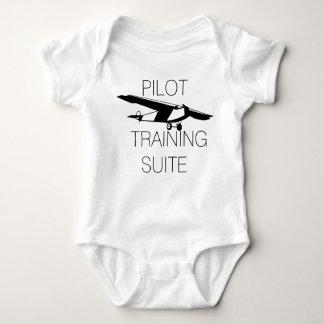 Série piloto bonito do treinamento body para bebê