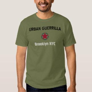 """Séries da guerrilha urbana """" de limites de cidade camiseta"""