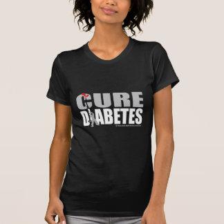 Seringa do diabetes da cura t-shirt