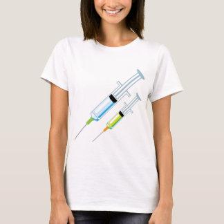 Seringa médica camiseta