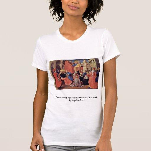 Sermão de St Peter na presença de St Mark T-shirt