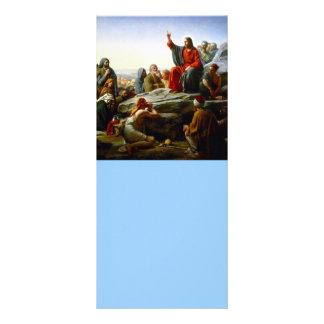 Sermão na montagem 10.16 x 22.86cm panfleto