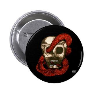 Serpente & crânio (Fogo-Vermelhos) Boton