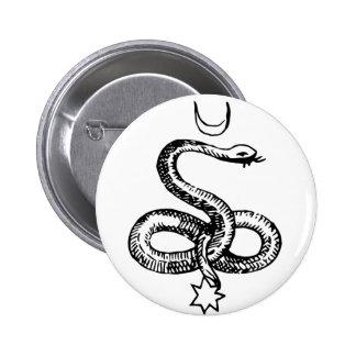 Serpente - símbolos pagãos botons
