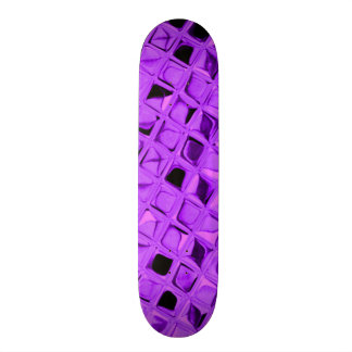 Serpentina Amethyst metálica brilhante do falso do Skate Boards