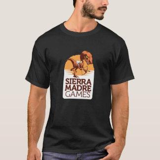Serra camiseta 2016 do logotipo dos jogos de Madre