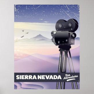 Serra poster de viagens de Nevada