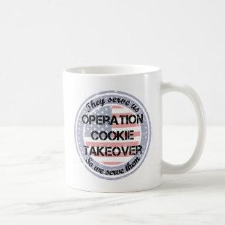 Servem-nos caneca de café