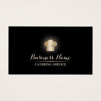 Serviço pessoal da restauração do cozinheiro chefe cartão de visitas