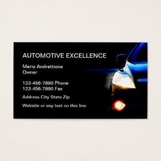 Serviços a empresas automotrizes cartão de visitas