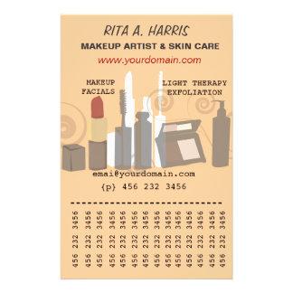 Serviços a empresas dos produtos de beleza do flyer 13.97 x 21.59cm